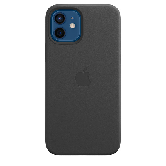 iPhone 12/12 Pro Leather Case with MagSafe Black