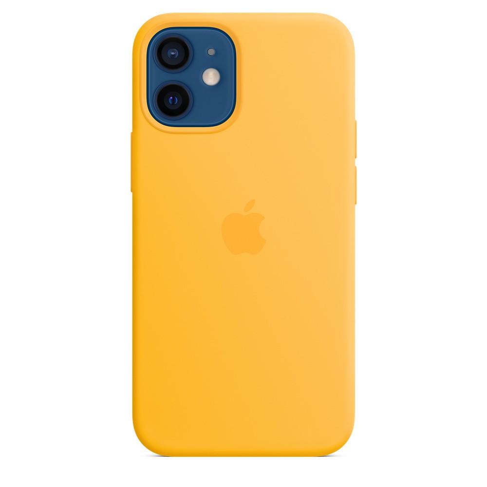 iPhone 12 mini Silicone Case wth MagSafe Sunflower