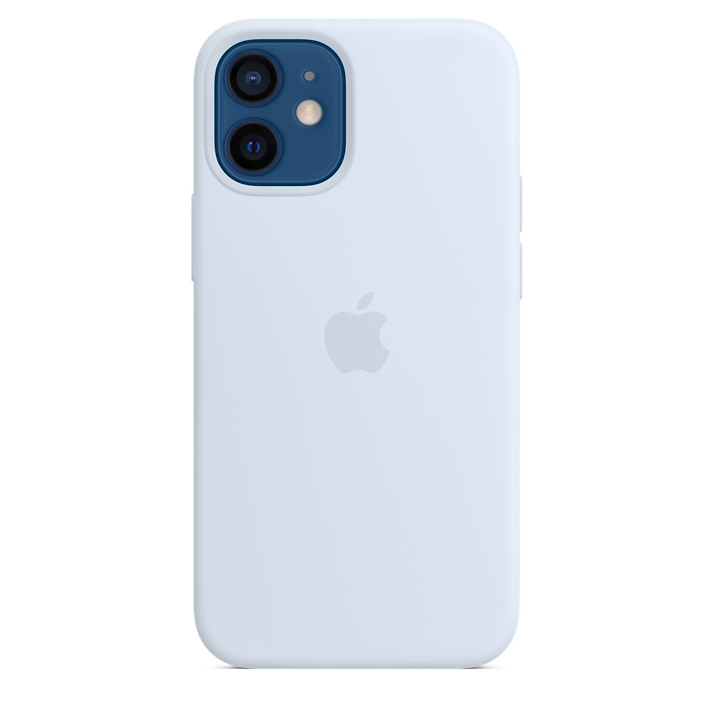 iPhone 12 mini Silicone Case with MagSafe Cl.Blue