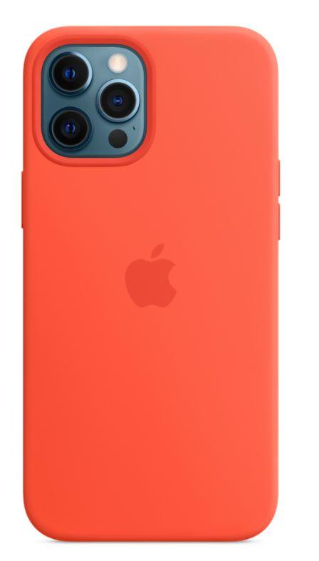 iPhone 12ProMax Silicone Case w MagSafe El.Orange