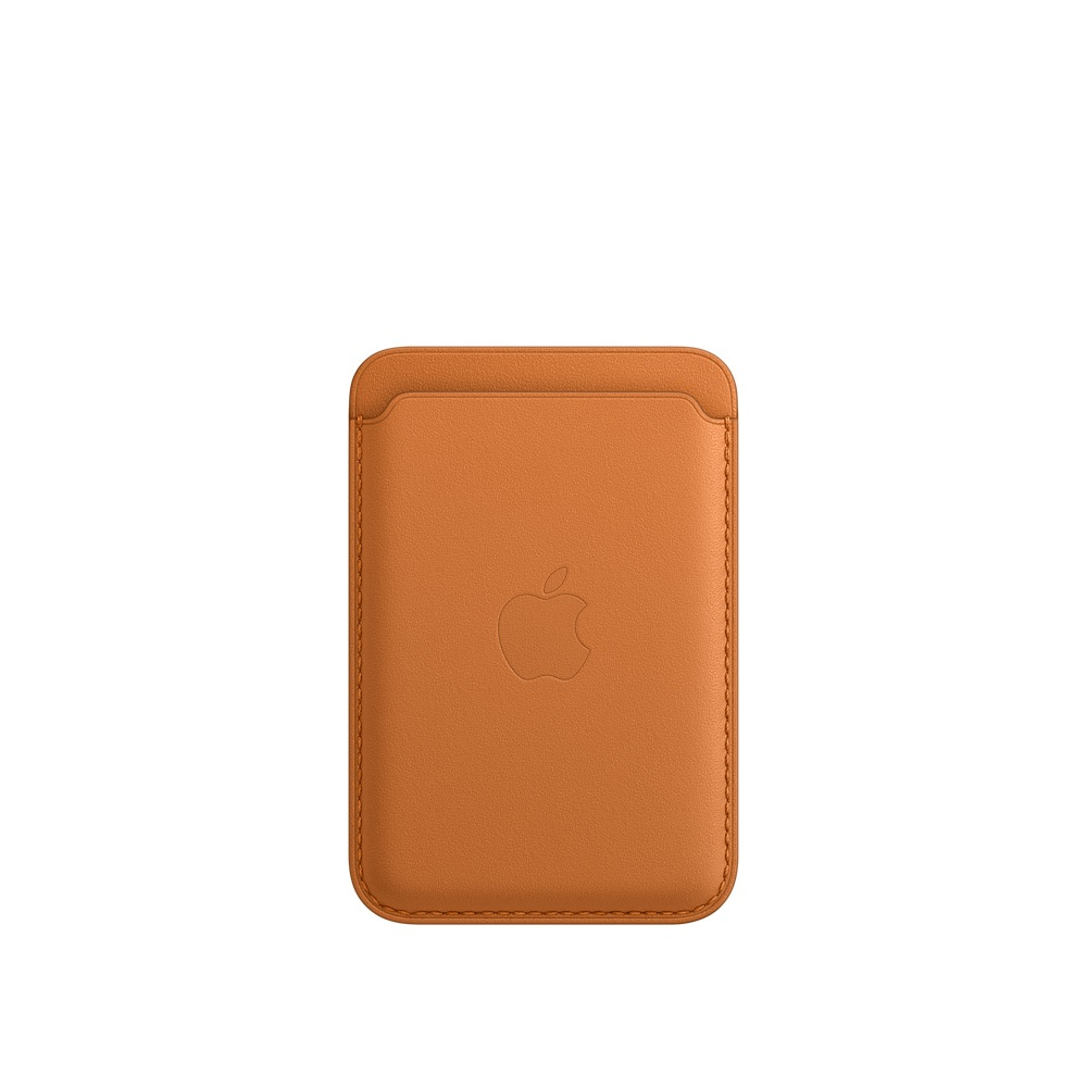iPhone Leather Wallet w MagSafe - G.Brown