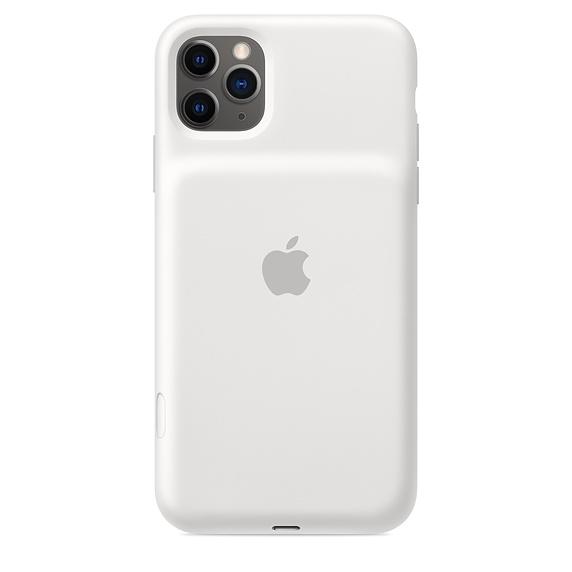 iPhone 11 Pro Max Sm. Bat. Case - WL Ch. - White