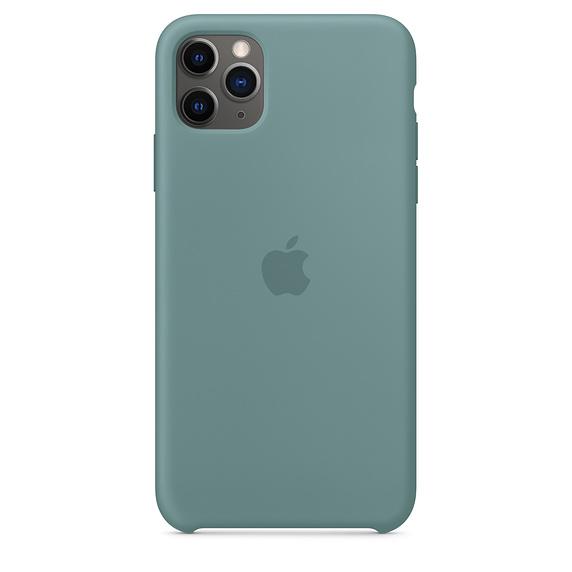 iPhone 11 Pro Max Silicone Case - Cactus