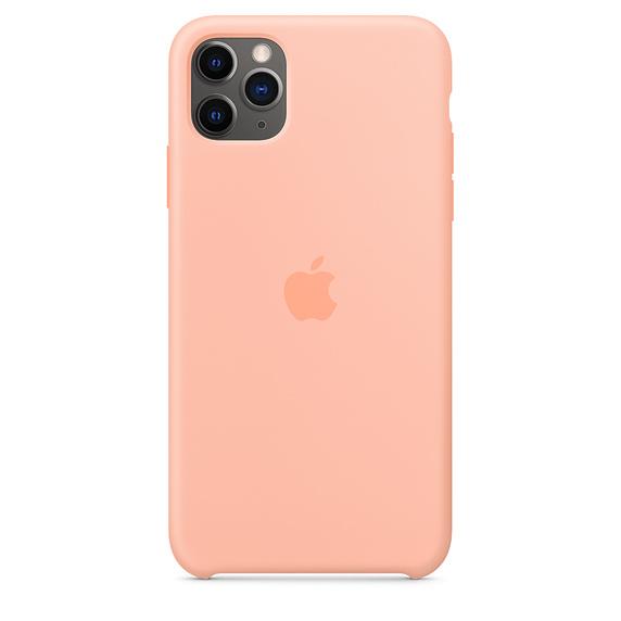 iPhone 11 Pro Max Silicone Case - Grapefruit