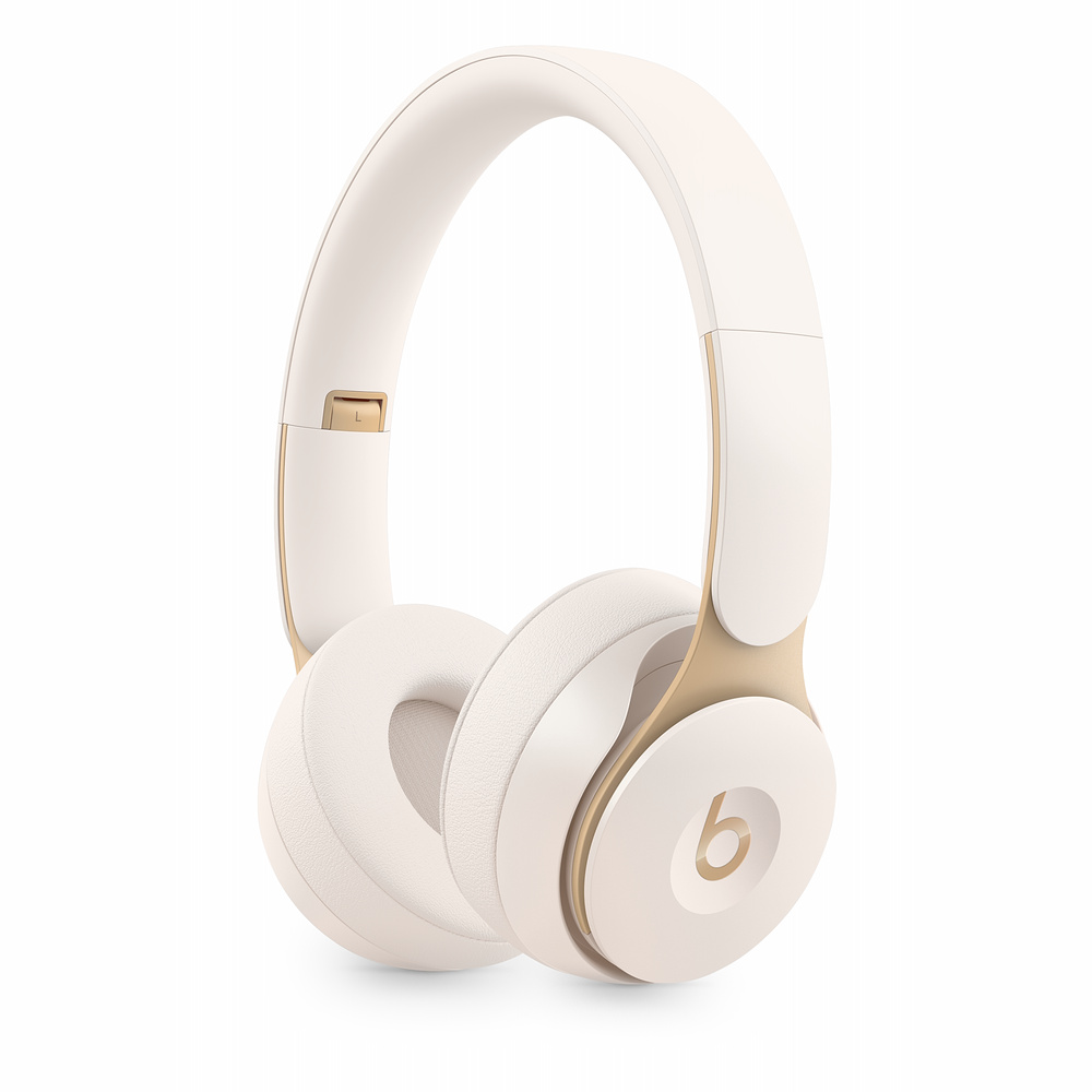 Beats Solo Pro WL NC Headphones - Ivory