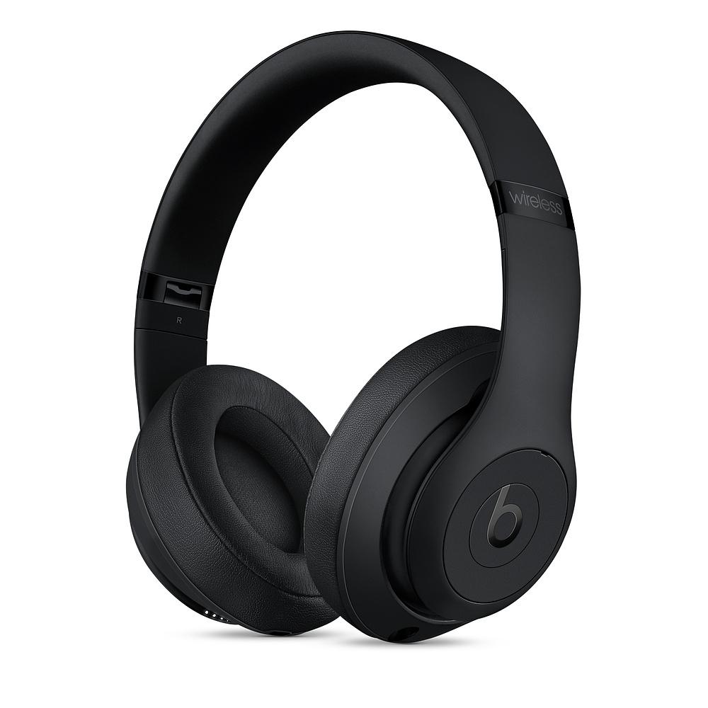 Beats Studio3 Wireless Headphones - Matte Black-SK
