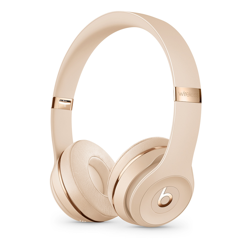 Beats Solo3 WL Headphones - Satin Gold