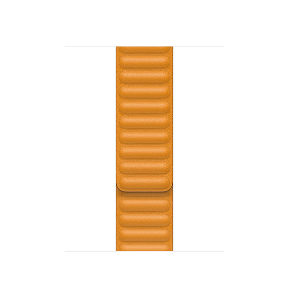 Watch Acc/44/California Poppy Leather Link-Sm