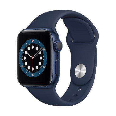 Watch S6, 44mm, Blue  Deep Navy SportB