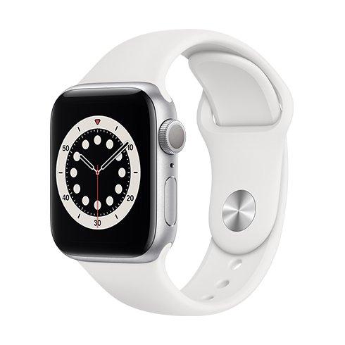 Watch S6, 40mm, Silver/White SportB