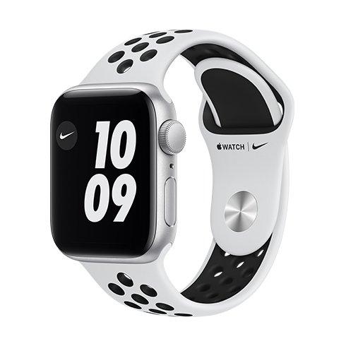Watch Nike S6, 44mm, Silver/Plat./Bl Nike SportB