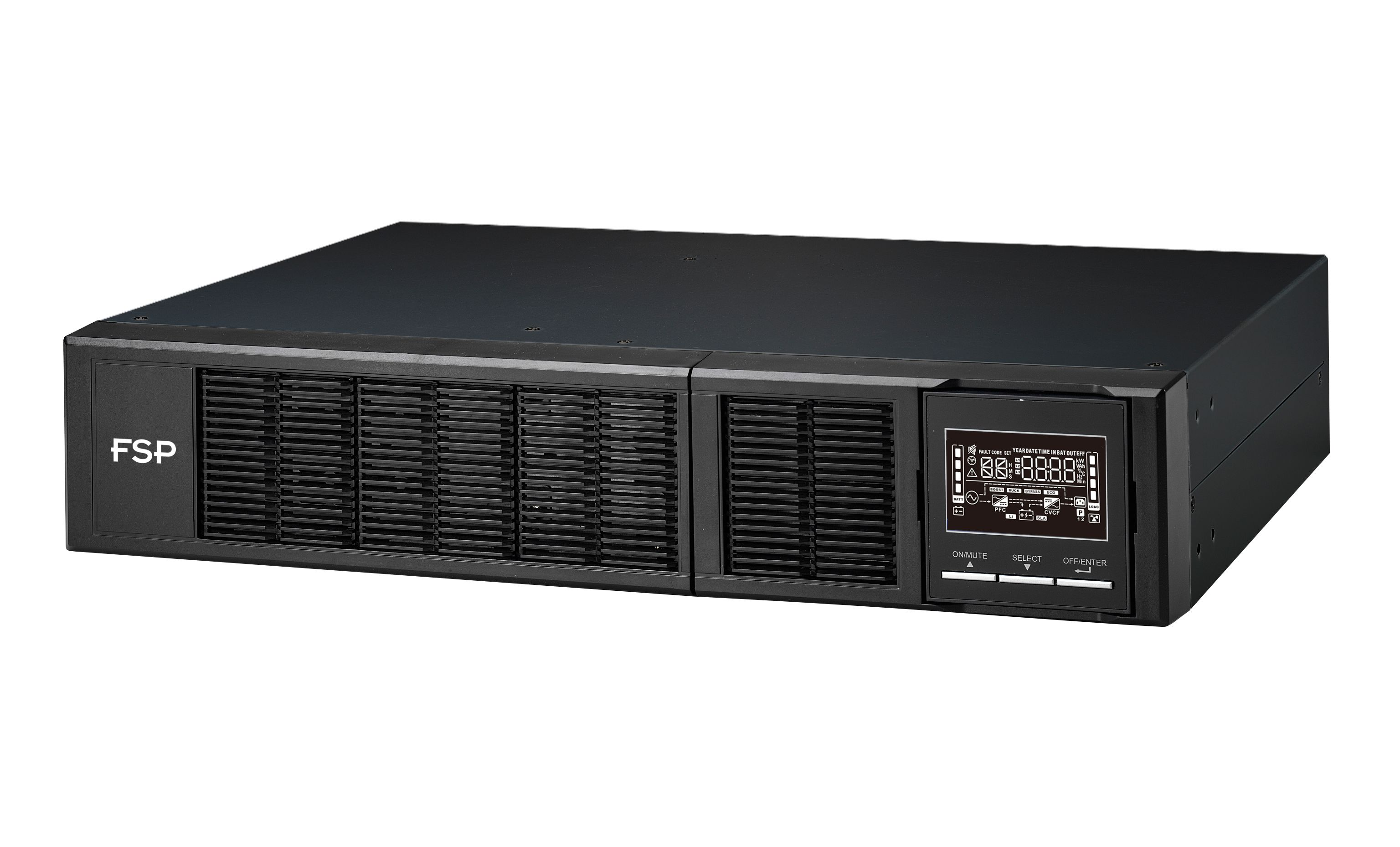 FSP/Fortron UPS Clippers RT 2K 2U, 2000 VA/2000 W, online