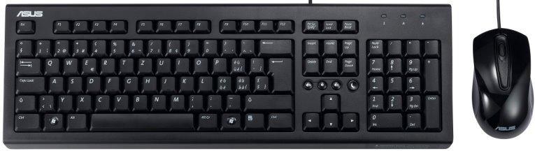 ASUS U2000 Keyboard + Mouse Set
