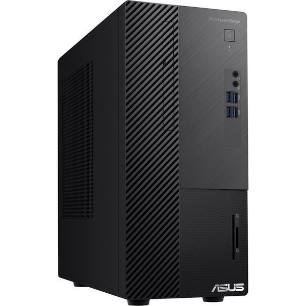 ASUS ExpertCenter D500MA/i7-10700 (8C/16T)/8GB/256GB SSD/WIFI+BT/TPM/CR/KL+M/W10P/Black/3Y PUR