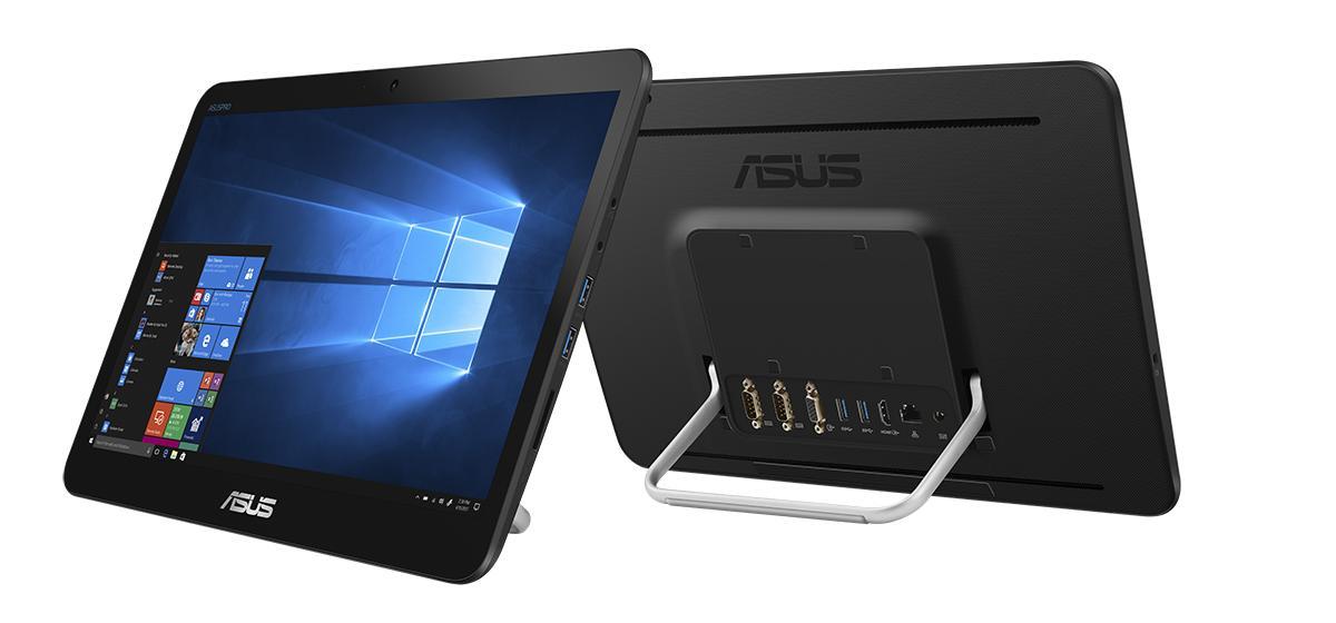 ASUS AIO V161/15,6'' HD TOUCH/ Intel N4020 (2C/2T)/4GB/128GB SSD/WIFI+BT/W10H/Black/2Y PUR