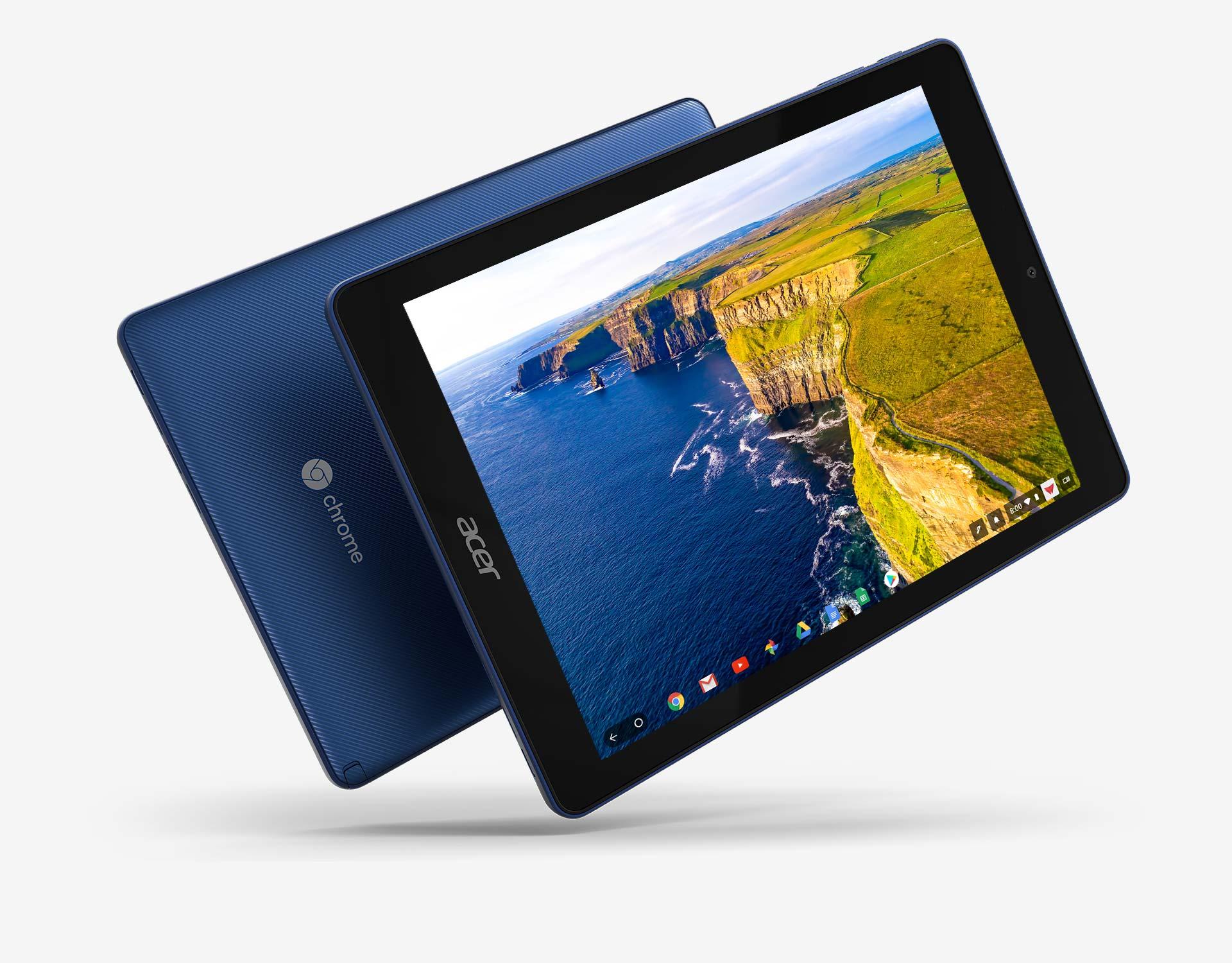 EDU - ACER Chrome Tab 10 - 4GB, eMMC, SD card reader, 9.7
