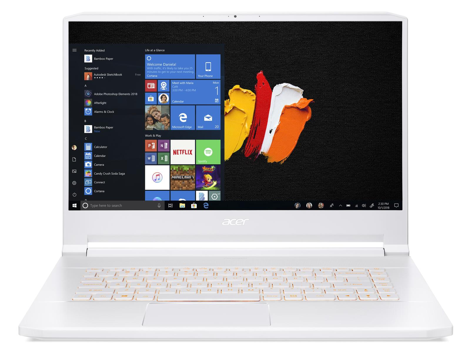 Acer ConceptD 7 Pro (CN715-71P) - 15,6