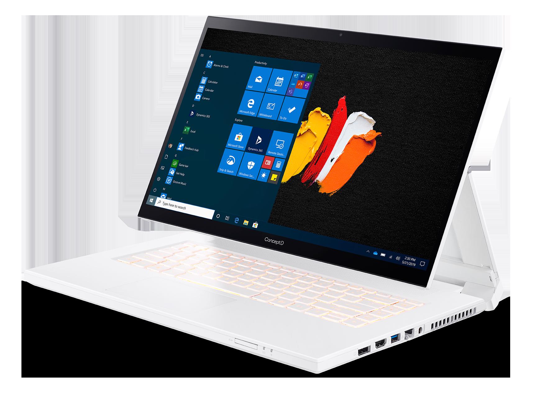Acer ConceptD 7 Ezel Pro (CC715-91P) - 15,6T
