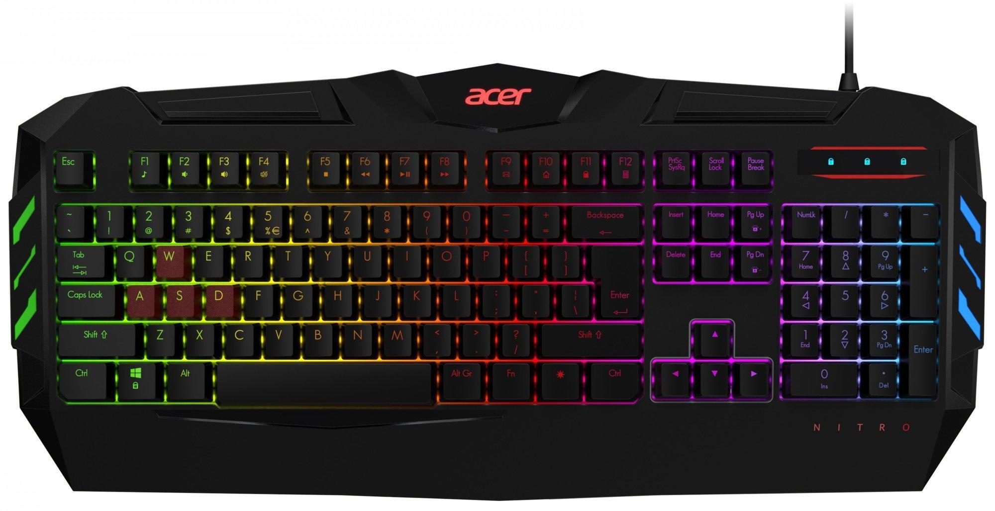 Acer NITRO herní klávesnice