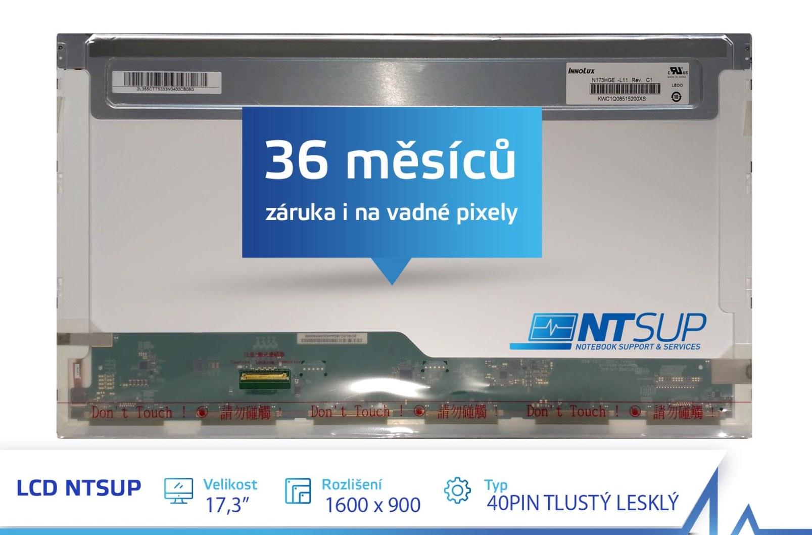 LCD PANEL NTSUP 17,3