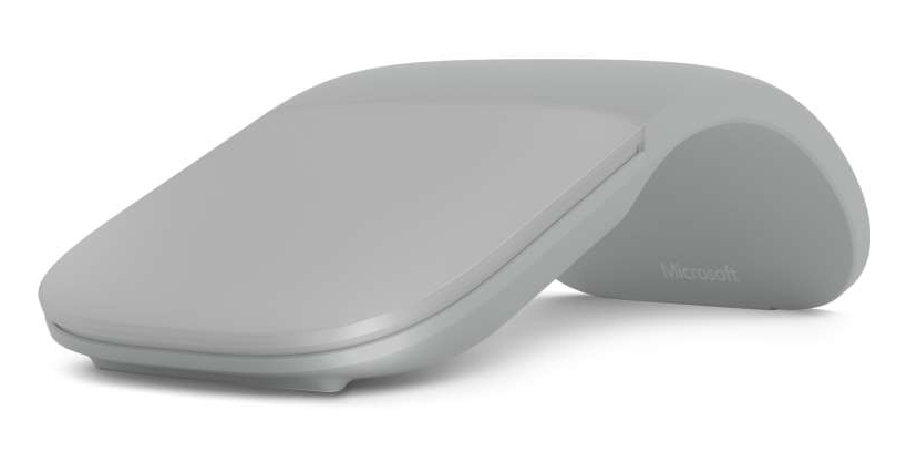 Microsoft Surface Arc Mouse Bluetooth 4.0, Light Grey