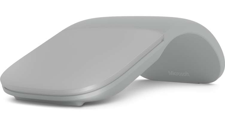 Microsoft Surface Arc Mouse Bluetooth 4.0, šedá