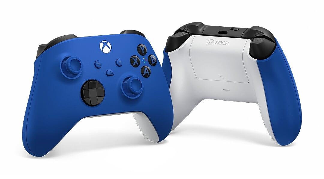 XSX - Bezdrátový ovladač Xbox One Series, modrý