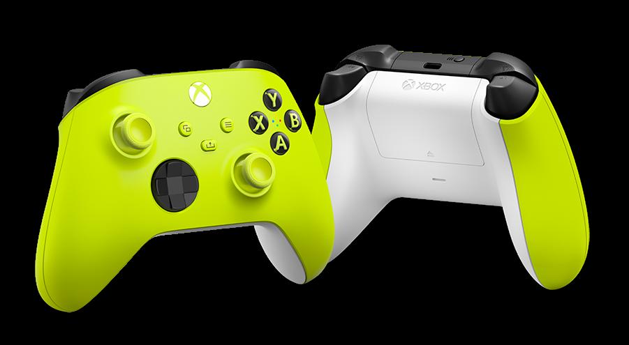 XSX - Bezd. ovladač Xbox One Series,Electric Volt