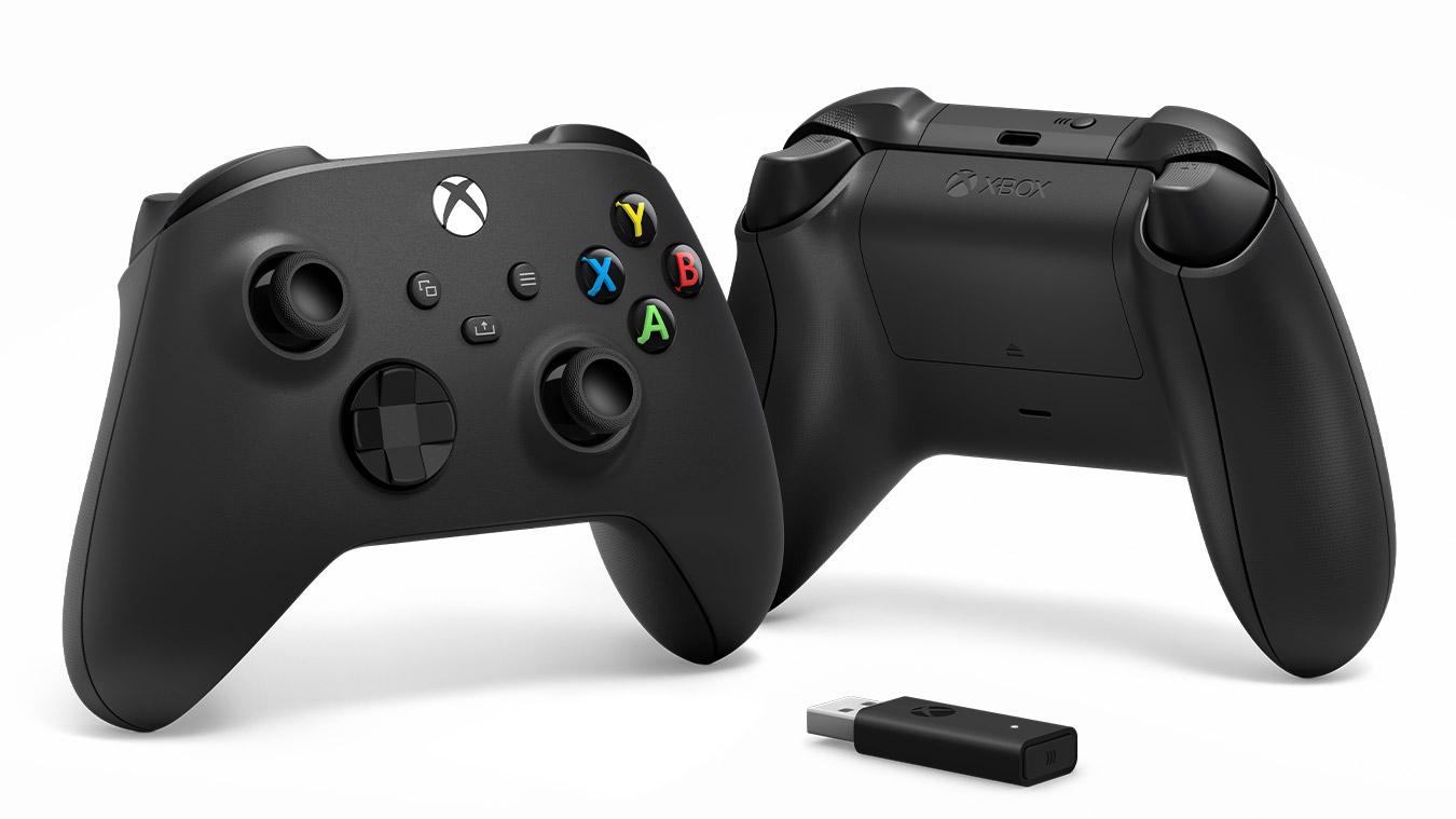 XSX - Xbox Series Gamepad + adaptér pro Windows