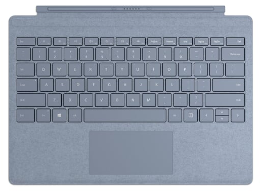 Microsoft Surface Pro Signature Type Cover (Ice Blue), CZ&SK
