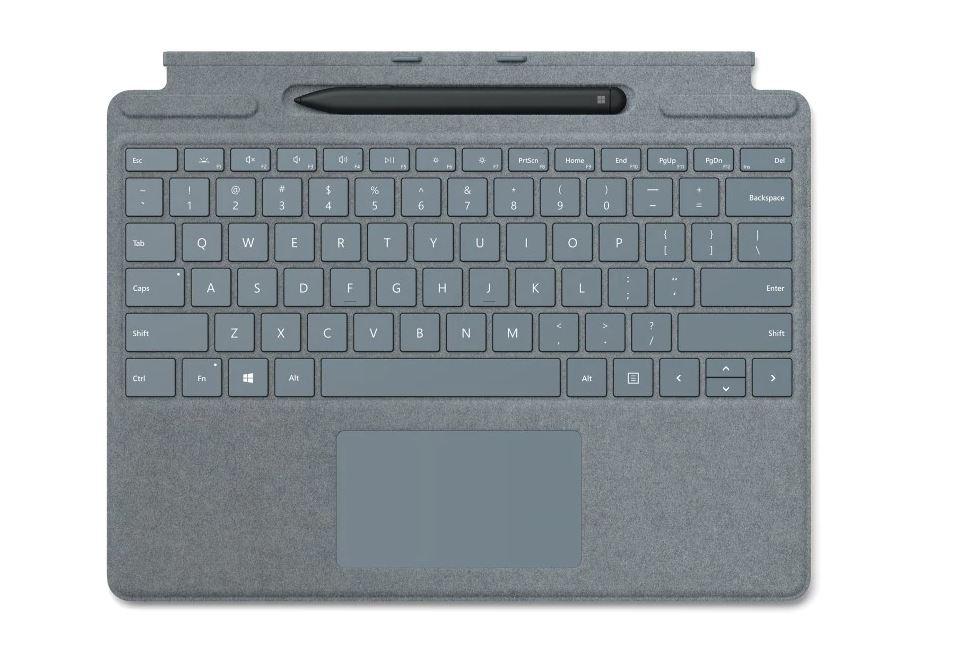 Microsoft Surface Pro X Keyboard + Pen bundle (Platinum), CZ&SK