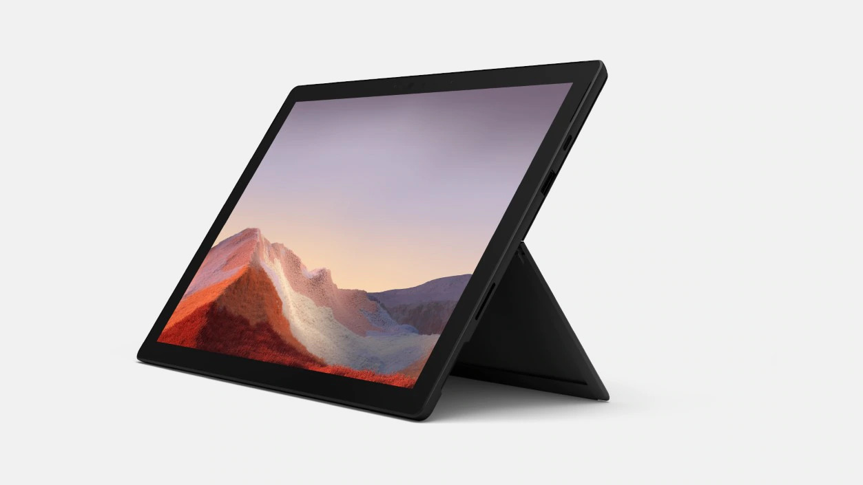 Microsoft Surface Pro 7+ - i5-1135G7 / 8GB / 256GB, Black; Commercial