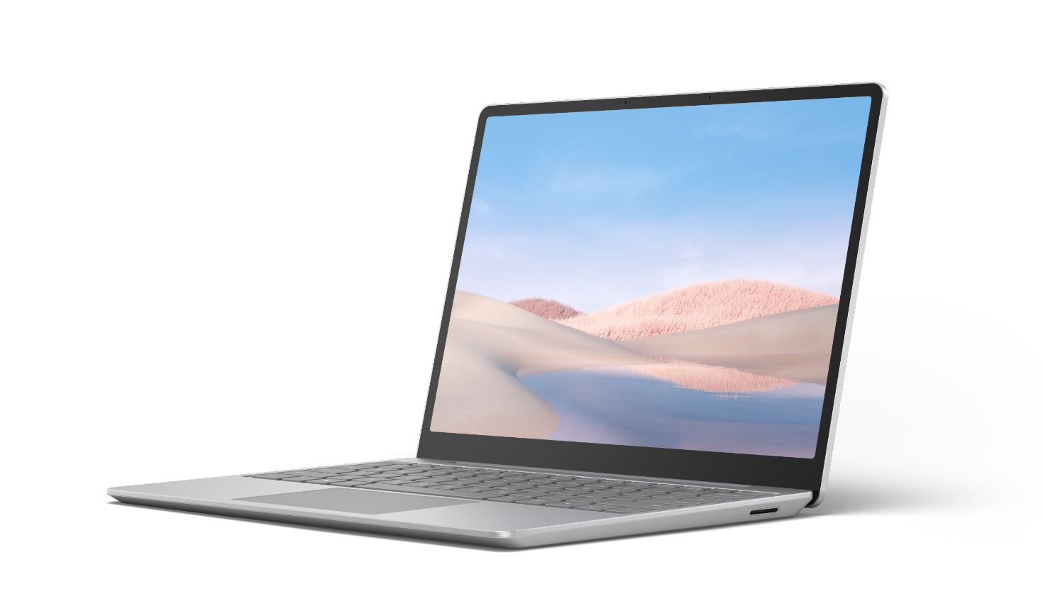 Microsoft Surface Laptop Go - i5-1035G1 / 16GB / 256GB, Platinum; Commercial