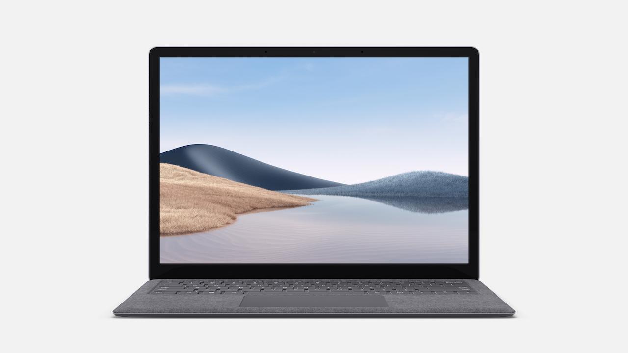 Microsoft Surface Laptop 4 - 13.5in / R5-4680U / 16GB / 256GB, Platinum; Commercial