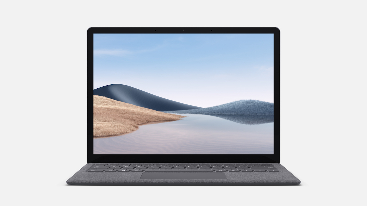 Microsoft Surface Laptop 4 - 13.5in / i7-1185G7 / 16GB / 512GB, Platinum; Commercial