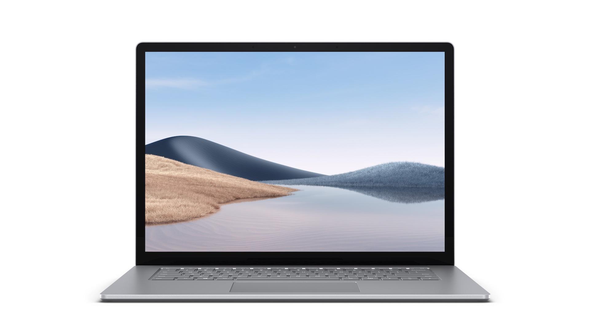 Microsoft Surface Laptop 4 - 15in / R7-4980U / 8GB / 256GB, Platinum; Commercial