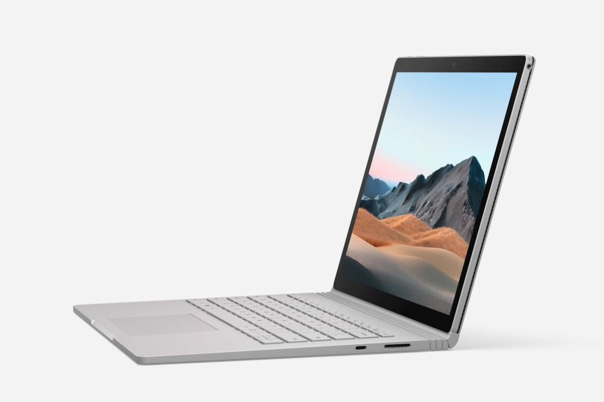 Microsoft Surface Book 3 13.5in - i5-1035G7 / 8GB / 256GB; Commercial