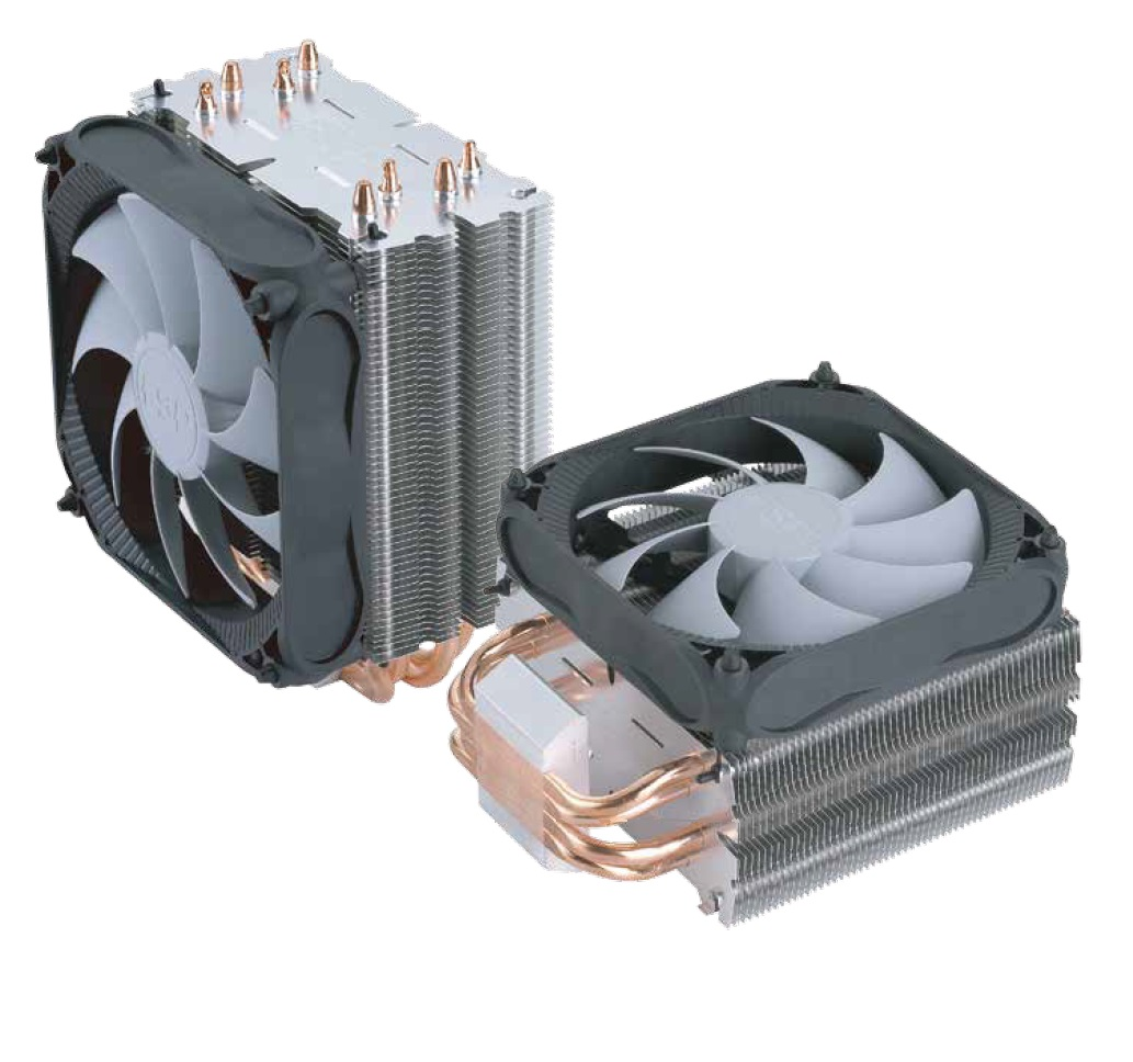 FSP/Fortron Chladič CPU Windale 4 Cooler AC401, 4 Heat-Pipe, 180W TDP, 120 mm PWM