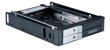 AKASA HDD box Lokstor M21, 2x 2.5
