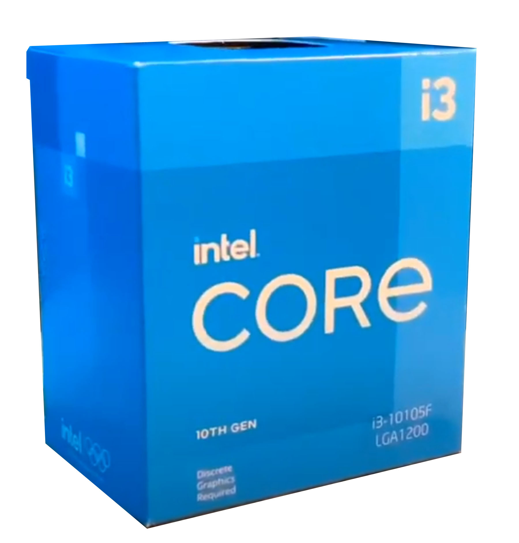 CPU Intel Core i3-10105F BOX (3.7GHz, LGA1200)