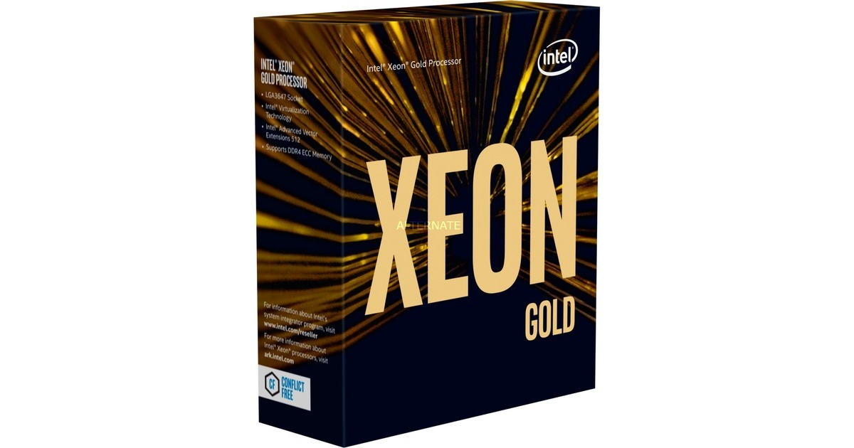 CPU Intel Xeon 6230 (2.1GHz, FC-LGA3647, 27.5M)