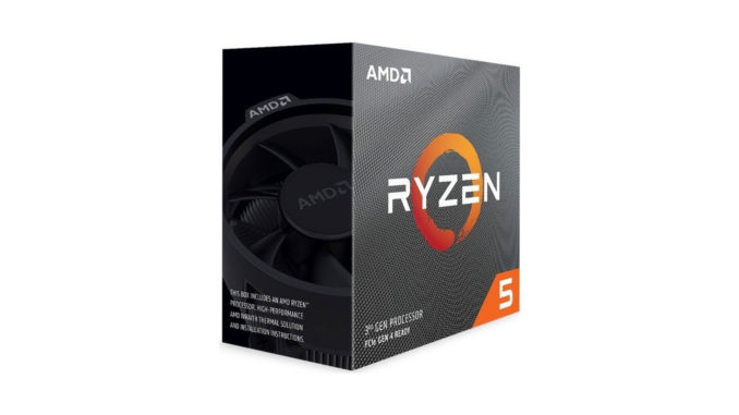 CPU AMD Ryzen 5 3600 6core (3,6GHz) Wraith