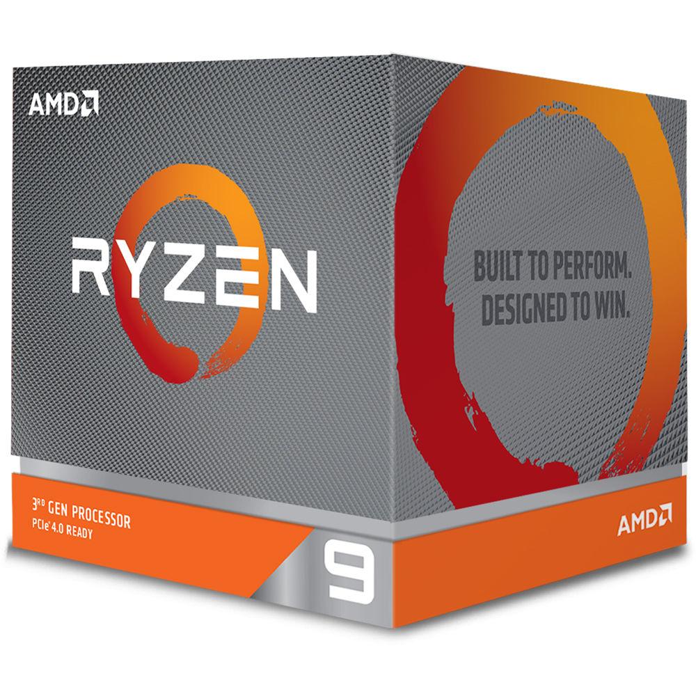 CPU AMD Ryzen 9 3900X 12core (3,8GHz) Wraith