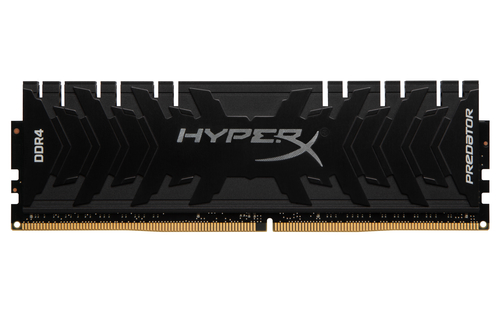 8GB DDR4-2400MHz CL12 Kings. XMP HyperX Predator