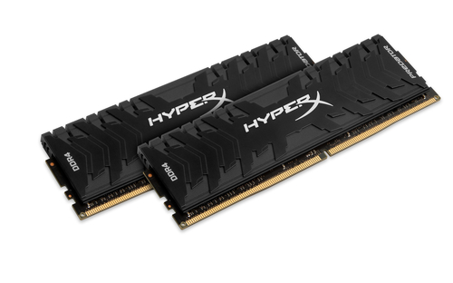 16GB DDR4-2400MHz CL12 Kings. XMP HyperX Predator, 2x8GB