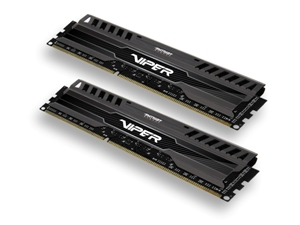 8GB DDR3-1600Mhz Patriot Viper3, kit černý CL9