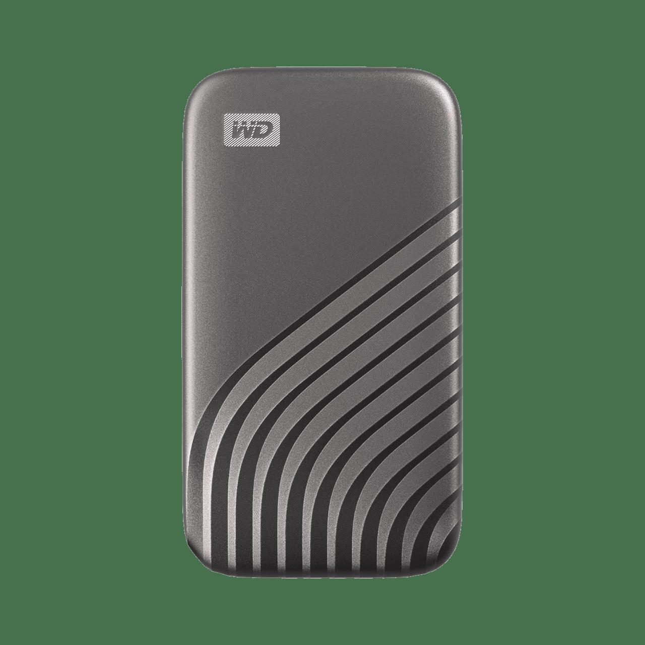Ext. SSD WD My Passport SSD 4TB šedá