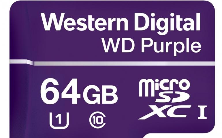 WD Purple microSDXC 64GB 100MB/s U1
