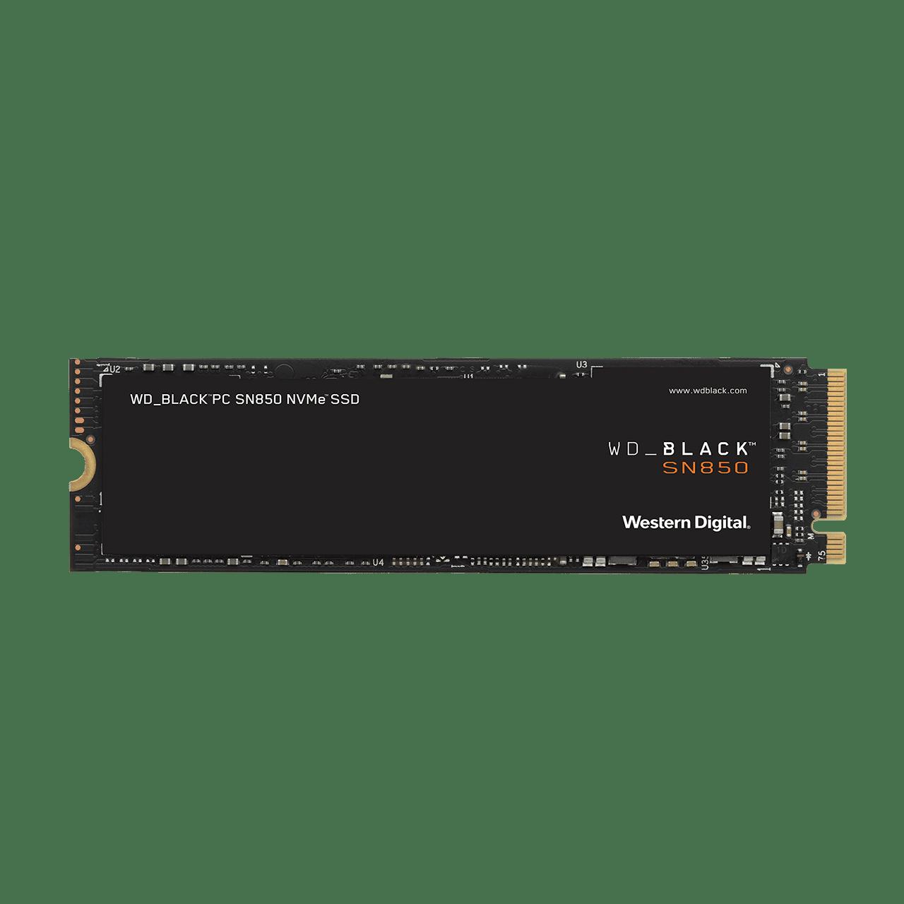 SSD 500GB WD_BLACK SN850 NVMe M.2 PCIe Gen4 2280