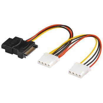 PremiumCord Napájecí Y kabel k HDD Serial ATA na 3x 5,25